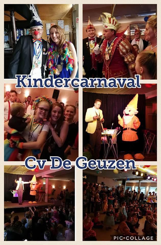 Het jaarlijkse kindercarnaval